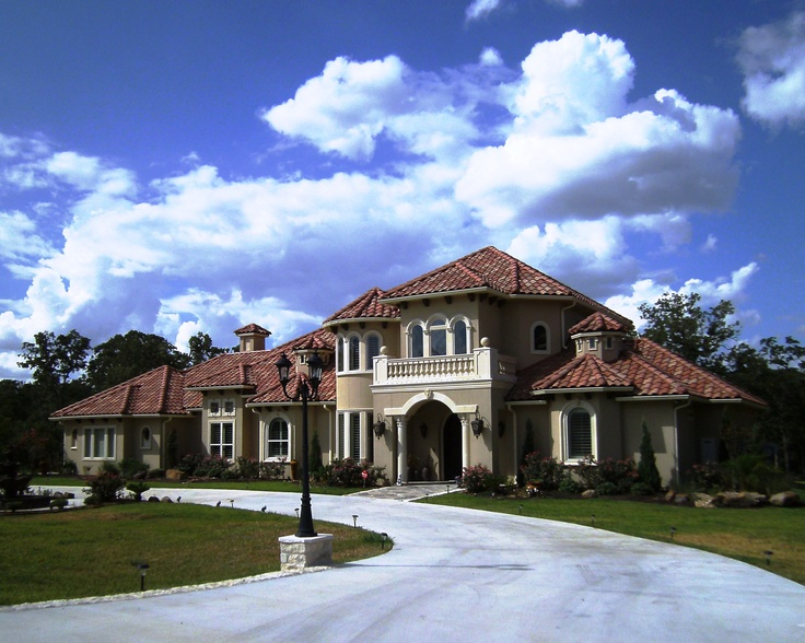 Monier Tile Roof - custom blend color scheme    Love this look!    http://century21bcs.com