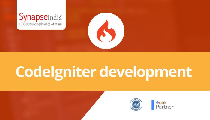SynapseIndia is a top-rated CodeIgniter development company