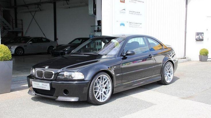 Sale a la venta un BMW M3 CSL E46 por 109.500€ - http://www.actualidadmotor.com/sale-a-la-venta-un-bmw-m3-csl-e46-por-109-500e/