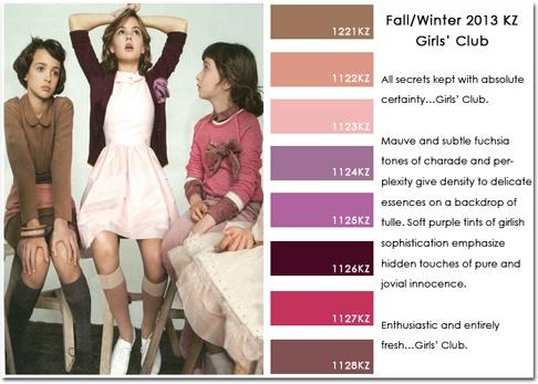 2013/2014 Autumn/Winter trends. Color.
