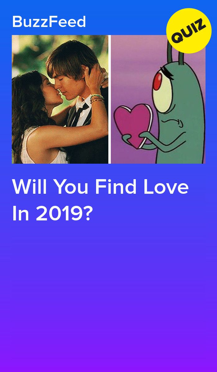 Will You Find Love In 2019? | Quizzes | Crush quizzes, Love