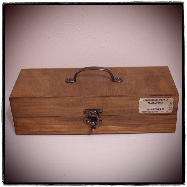セリアの木箱で作る男前ウッドボックス by Vintageさん | RoomClipMag | 暮らしとインテリアのwebマガジン