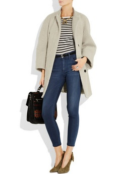 I can dress like this?Nice Combinations, High Waist Jeans, Relaxing Class, Long Jackets, Totally, Sophisticated Casual, Favorite Jeans, Jeans Note, Beautiful Coats