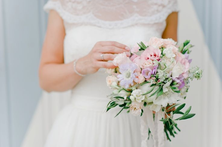 Pastel whimsical Wedding bouquet With a peony and some pastel flowers. Picture : nadi meli Flowers Bloom your life