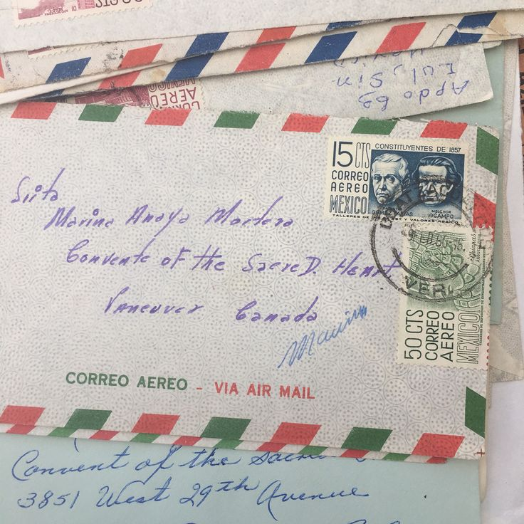 A personal favourite from my Etsy shop https://www.etsy.com/uk/listing/511338584/6-vintage-envelopes-airmail-envelopes