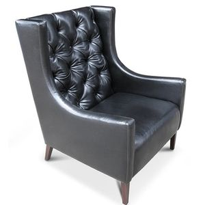 Emporio A statement armchair.  Available in a range of finishes and colours.  Also as a two-seater.