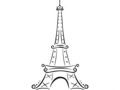 craftaholic: Riscos da Torre Eiffel