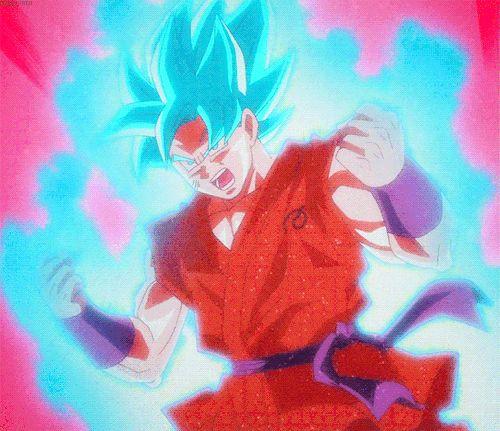 Image result for dragon ball super Saiyan blue kaioken goku