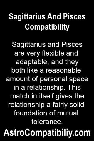 sagittarius and a pisces relationship interest