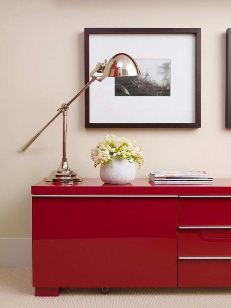 15 Bold Ways to Decorate With Candy Apple Red | Color Palette and Schemes for Rooms in Your Home | HGTV >> http://www.hgtv.com/design/decorating/color/15-bold-ways-to-decorate-with-candy-apple-red-pictures?soc=pinterest