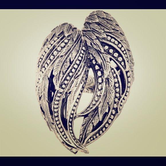Scott Kay guardian angel ring Big bold angel wings Scott kay Jewelry Rings