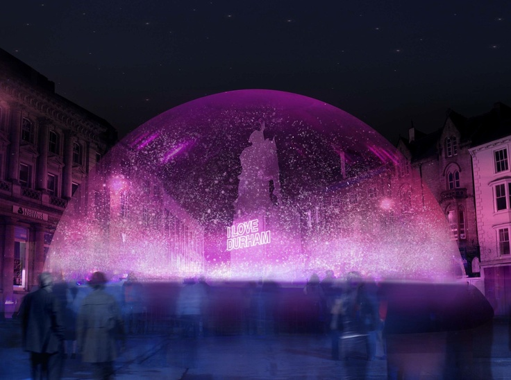 Lumiere: 14-17 November For four nights this winter in November 2013 Durham City will once again be transformed by a series of light installations and projections from leading regional, national and international artists. Visitors will be able to enjoy a sense of celebration as they explore the new nocturnal landscape of the city.
