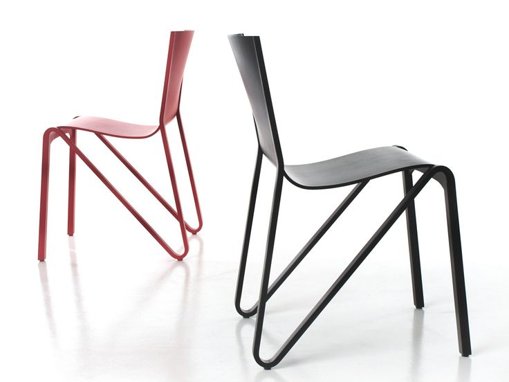 Stackable plywood chair ZESTY by Plycollection design o4i