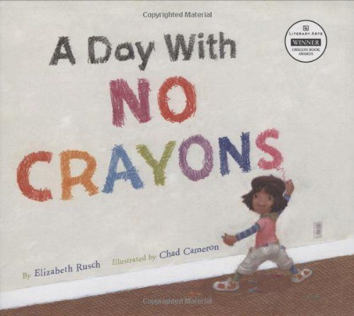 A Day With No Crayons by Elizabeth Rusch, http://www.amazon.com/dp/0873589106/ref=cm_sw_r_pi_dp_C3d9pb1MPDZ9X