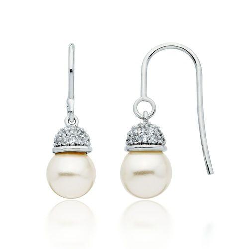Virtue Pearl Drop Earrings