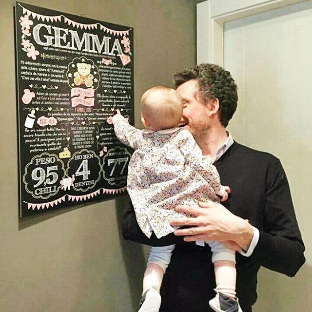 """""""Mi piace"""": 58, commenti: 2 - @lavagnettiamo su Instagram: """"Adoriamo le foto in cui i piccoletti familiarizzano con la loro #lavagnaprimocompleanno 😍😍😍😍 . . .…"""""""