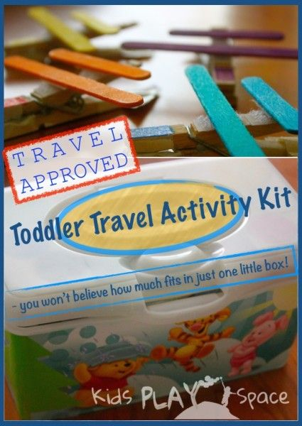 Toddler Travel Activity Kit - Kids Play Space