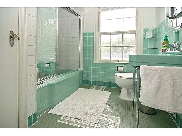Seafoam Green Bathroom Tile Innovative Retro Bathroom Renovation