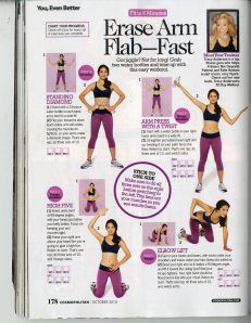 Tracey Anderson arms,flab fast, #fitness, #abs