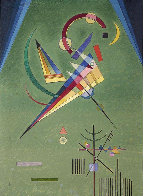 Wassily Kandinsky – Free, 1927