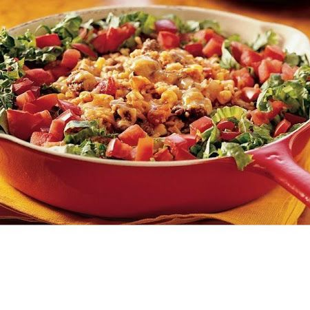 Beef Taco Rice Skillet | Eat | Pinterest