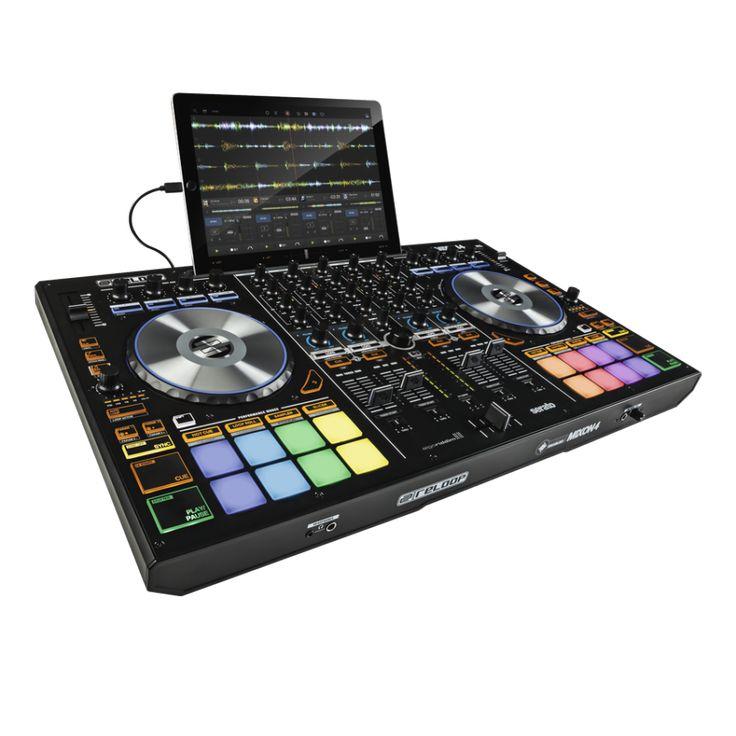 Colombia estas viendo el controlador DJ más completo y más compatible que se ha creado hasta ahora, el Reloop MIXON 4 es la versión mas potente para DJs.