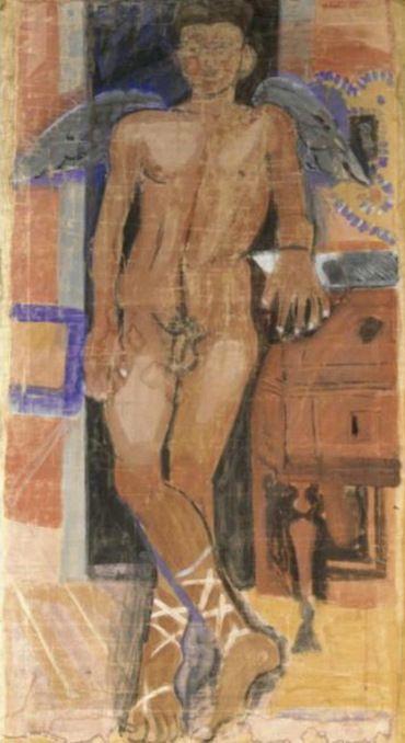 Τσαρούχης Γιάννης -Eros – Yannis Tsarouchis [1910-1989] | paletaart – Χρώμα & Φώς