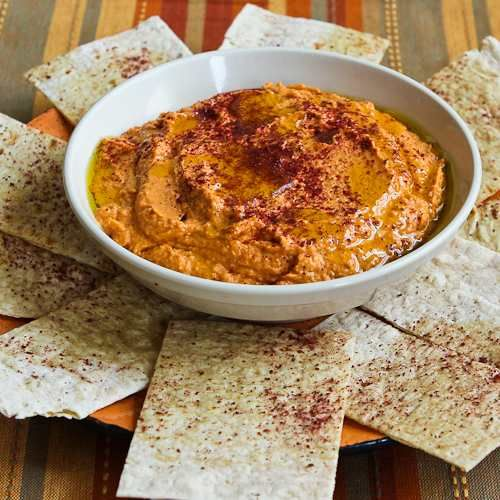 I love all types of hummus, but this Slow Roasted Tomato Hummus is one of my favorites!