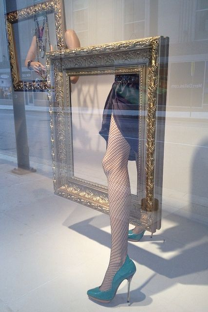 We sell mannequin legs at www.MannequinMadness.com for displays like this