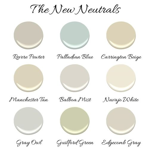 Benjamin moore the new neutrals paint colors for New neutral paint colors