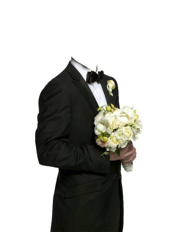 Картинки жениха и невесты без головы