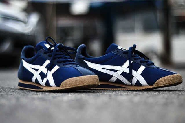 Onitsuka Tiger Corsair: Navy/White