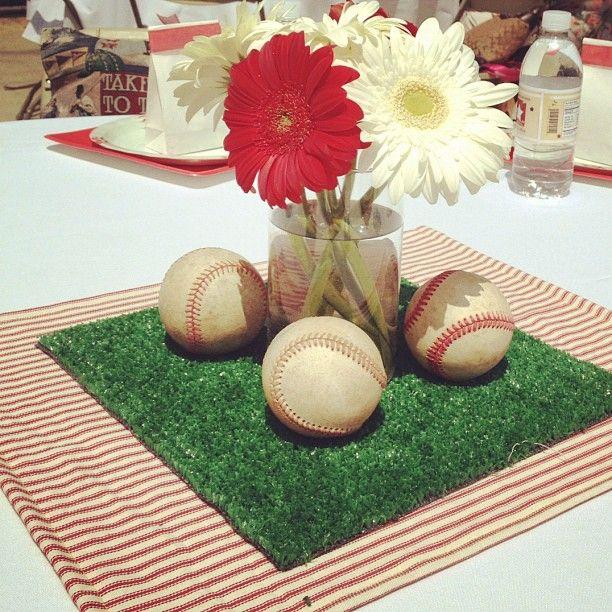 Christy's Baseball Baby Shower
