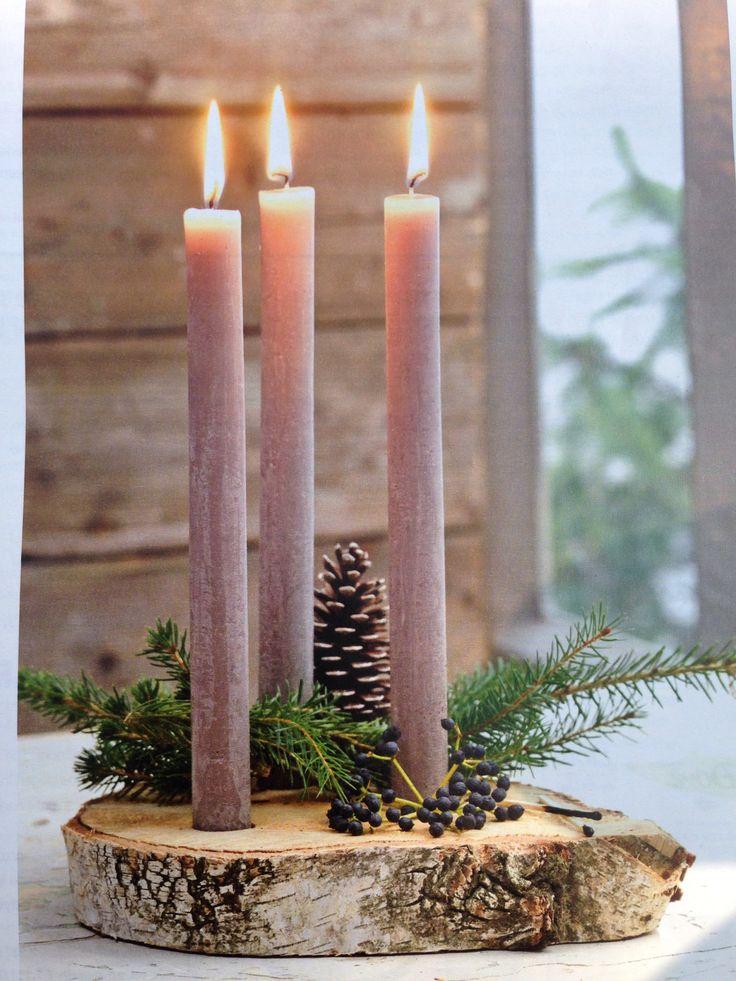 Diy Candle Holder For Christmas Holidays Pinterest