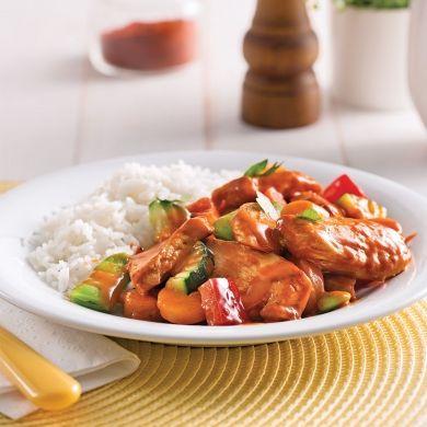Mijoté de légumes et poulet au paprika - Recettes - Cuisine et nutrition - Pratico Pratique
