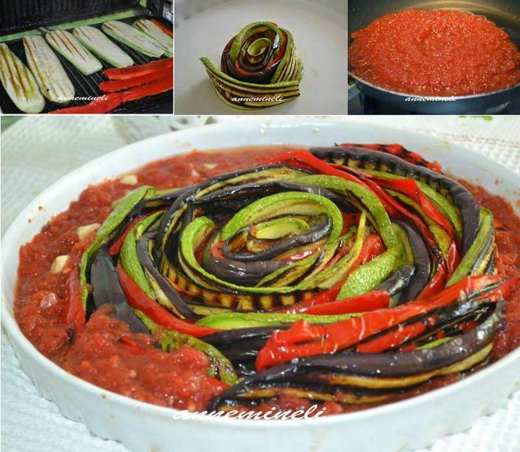 Karışık Izgara Sebzeler  -  Zehra Şener #yemekmutfak.com Görünümü ve tadı muhteşem olan domates soslu ızgara sebzeler Ramazan sofraları için de yapabileceğiniz çok özel bir tariftir. Son derece hafif ve besleyici olan bu yemek misafirlerinize de sunabileceğiniz, vejetaryenlere de uygun çok sağlıklı bir yemektir.