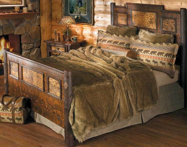 Western Leather And Reclaimed Barn Wood Furniture