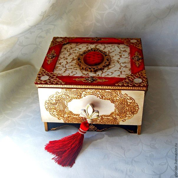 Wooden Box Decorating Ideas 361 Best Boxes Images On Pinterest Decorative