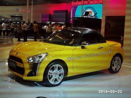 Coopen model menyerupai mini cooper produksi PT.Daihatsu Motor