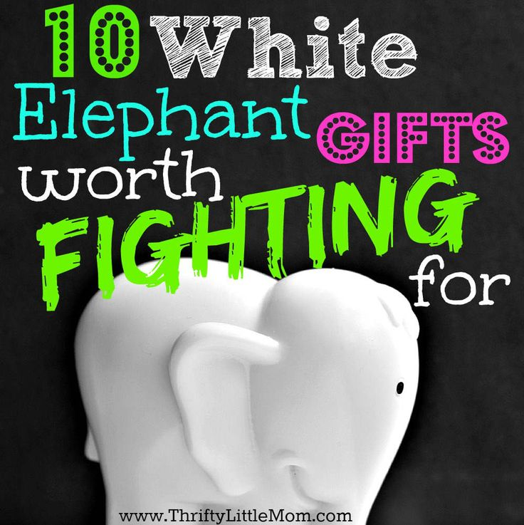 Looking for white elephant gifts worth fighting for? Need yankee swap gift ideas? Find some inspiration from this blog post from Thrifty Little Mom.