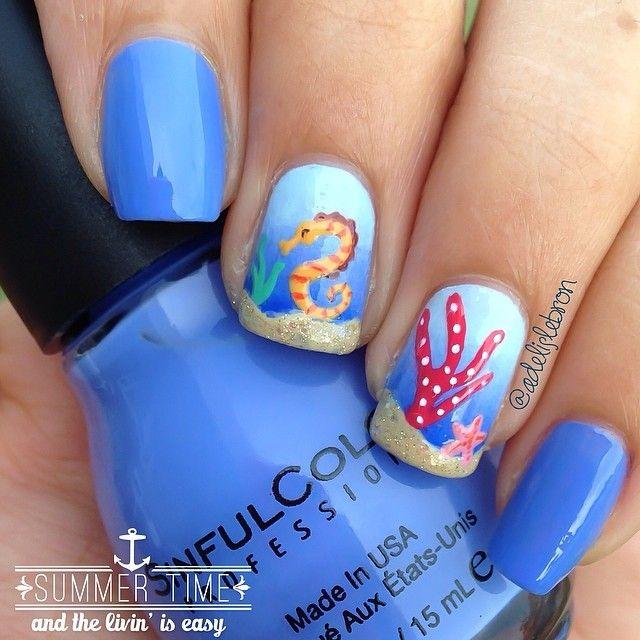 #Beach #nails