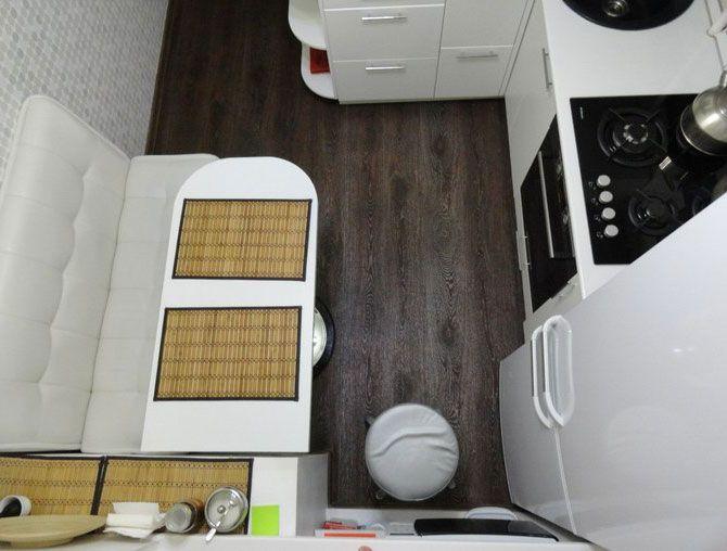 Маленькая кухни 6 кв м - примеры дизайна, фото, на что следует обратить внимание.