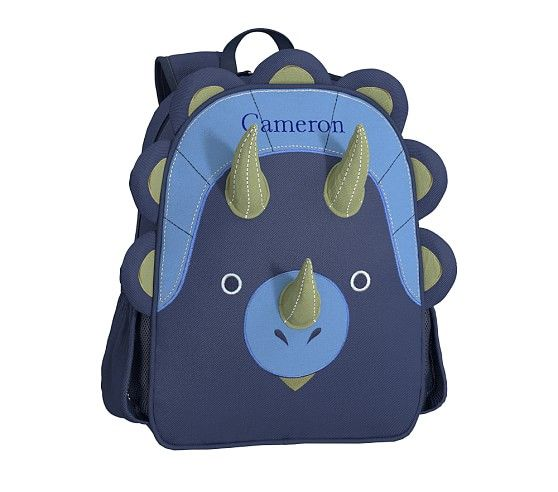 Classic Critter Dinosaur Backpacks | Pottery Barn Kids