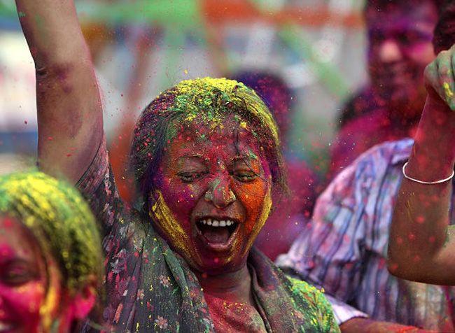 Holi, the Hindu festival of colour