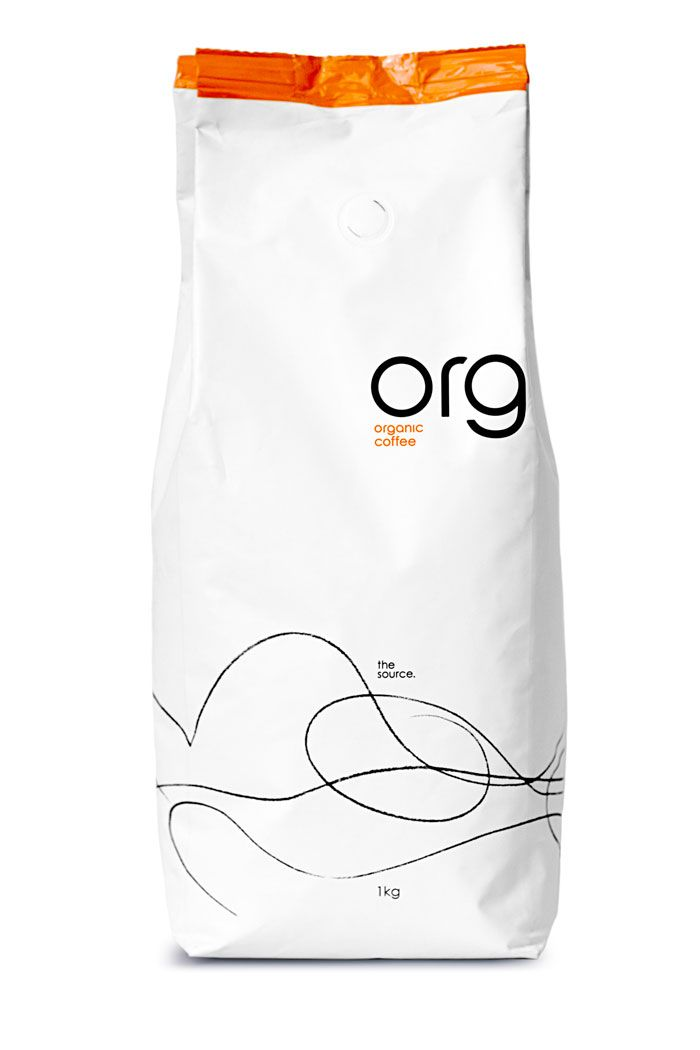Barker Gray have recently created a new organic Roast & Ground coffee brand 'Org' for the DE Master Blenders
