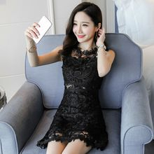 Most recent arrival Women Summer Cute Elegant Sleeveless Lace Office Mini Dress Chinese Beautiful Slim Casual Ukraine Girl Black Sexy Short Dress now for sale US $24.99 with free delivery  you can get this excellent piece plus a whole lot more at the estore      Grab it right now at this site >> http://bohogipsy.store/products/women-summer-cute-elegant-sleeveless-lace-office-mini-dress-chinese-beautiful-slim-casual-ukraine-girl-black-sexy-short-dress/,  #BohoGipsyStore