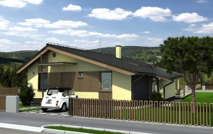 Návrh rodinného domu Stilo II od APEX ARCH s.r.o.