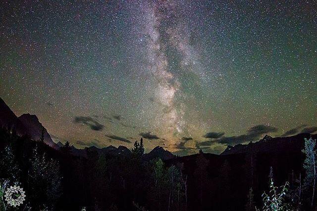 Milky way all the way   2016 Jasper Dark Sky Festival link in bio  Photo by @mikegerephoto #MyJasper