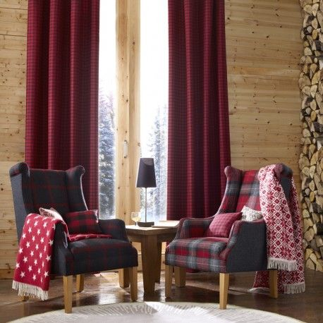 wool curtains