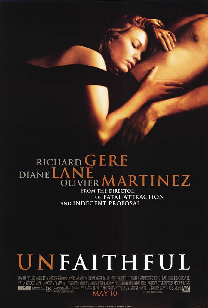 Unfaithful (2002) starring Richard Gere, Diane Lane & Olivier ...